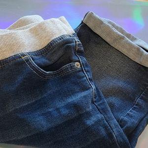 "Justice ""jeans"" stretch bermudas"